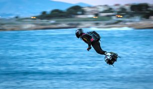 Inventor to Cross English Channel on Jet-Powered Hoverboard