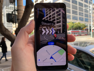 Google's New Live View AR App for Google Maps